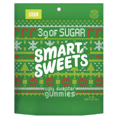 Smart Sweets Holiday Gummies Sour 50g