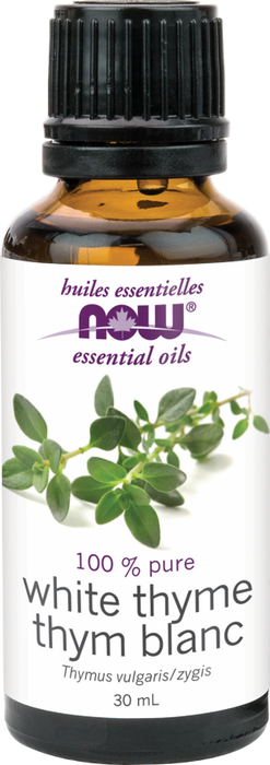 NOW Thyme Oil, White 30ml