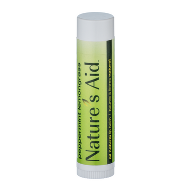 Nature's Aid Peppermint Lemongrass Lip Balm 4.25g