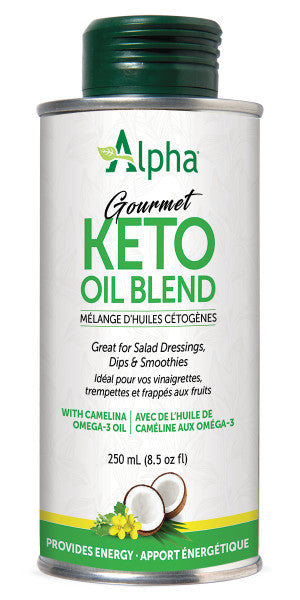 Alpha Gourmet Keto Oil Blend (with Camelina) 250ml Tin