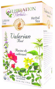 Celebration Herbals Valerian Root Organic 24 Tea Bags