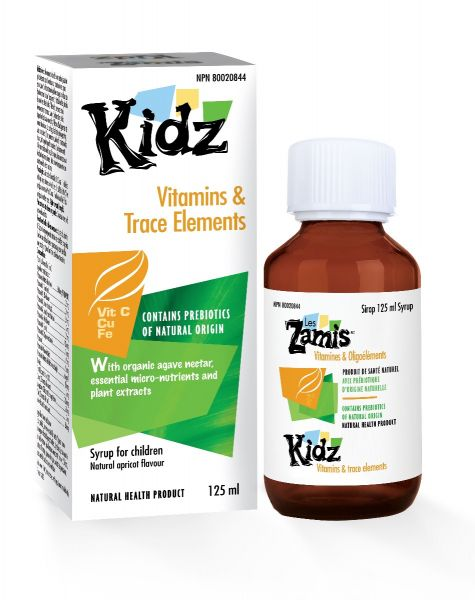 Distripharm Kidz Vitamins And Trace Elements 125ml