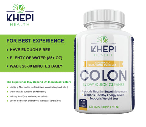 15 Day Colon Cleanse Buy 1 Get 1 Free! +FREE Activity Tracker
