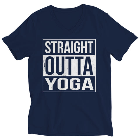 Image of Ladies V-Neck - Limited Edition - Straight Outta Yoga - V-Neck