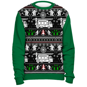Christmas Firefighter - Ugly Sweater