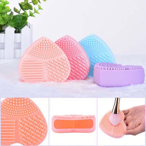 Image of Silicone Makeup Brush Cleaning Mat