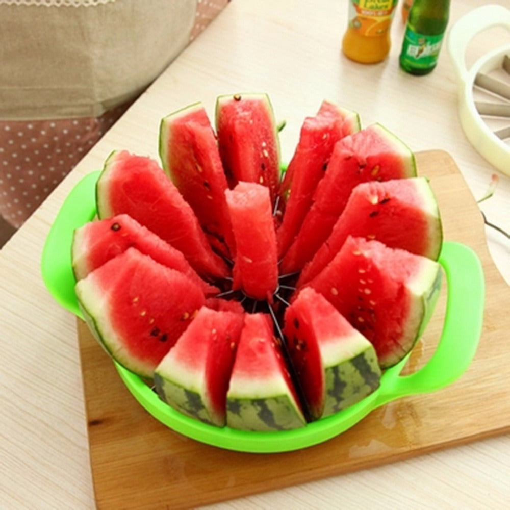 Top Quality Watermelon Melon Cantaloupe Stainless Steel Cutter Slicer - Kitchen Tool