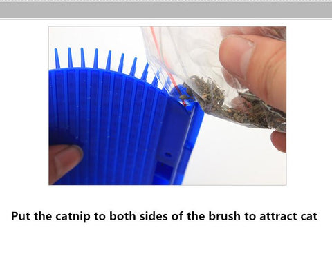 Image of Self Grooming Cat Brush - The Best Self Grooming Cat Brush