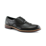 Classic Wingtip Fashion Dress Shoes | Abraham | Ferro Aldo Men Shoe | CONAL FOOTWEAR
