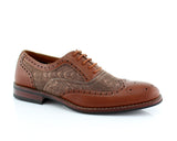Wave Print Wingtip Men's Oxford | Alan | Ferro Aldo Vintage DesignShoes | CONAL FOOTWEAR