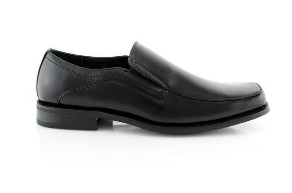 Black Slip On Mens Business Shoes Delli Aldo Men's Shoes Deals Side