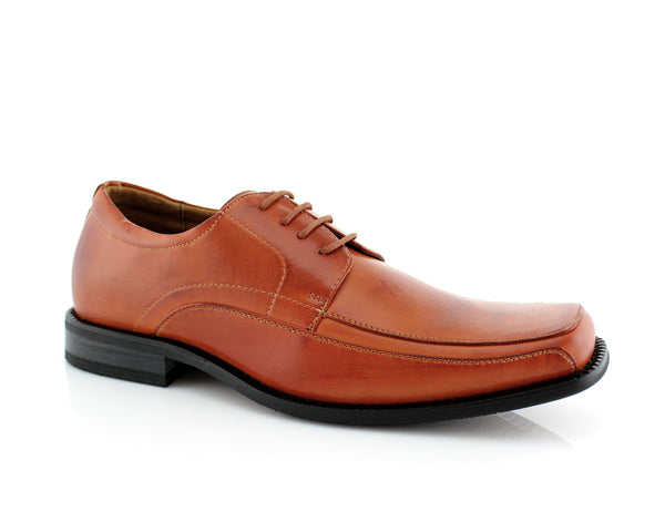 Buy Lace Up Formal Business Shoes | Dominic | Delli Aldo Square Toe Shoes | CONAL FOOTWEAR
