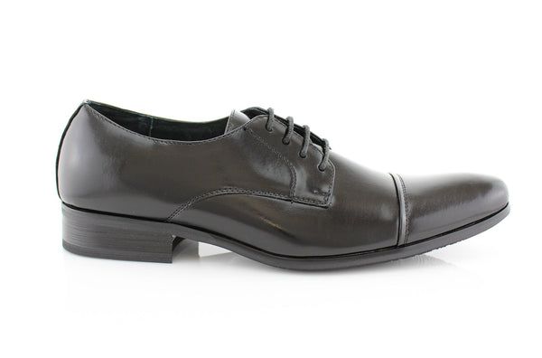 Black Men's Semi Brogues Footwear Easton Side