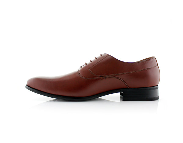Men's Brown Dancing Formal Shoes Frank Side View