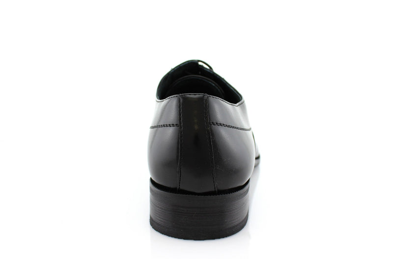 Men's Black Dancing Formal Shoes Frank Back View