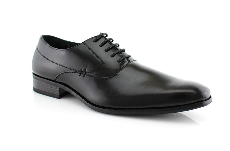 Men's Black Dancing Formal Shoes Frank Side View