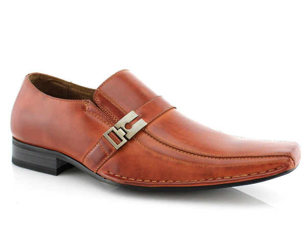 Formal Business Work Shoes| Jose | Classic Square Toe Man Shoes | CONAL FOOTWEAR