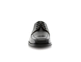 Derby Business Dress Black Shoes For Men's Business Job Nathan Front View
