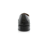 Buy Business Men's Black Color Shoes Kobe Ferro Aldo Back View