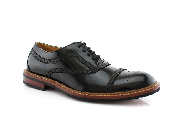 Italy Casual Brogues Wingtip | Charlie | Men's Shoe By Conal Footwear