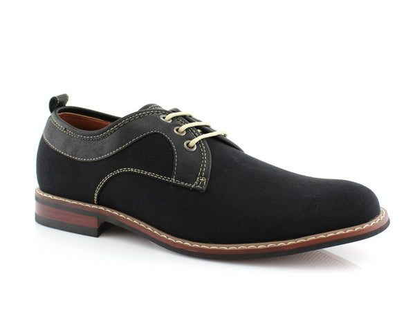 Shoes Ship From USA | Isaac | Plain Toe Lace up Suede Shoes  | CONAL FOOTWEAR Since 1983