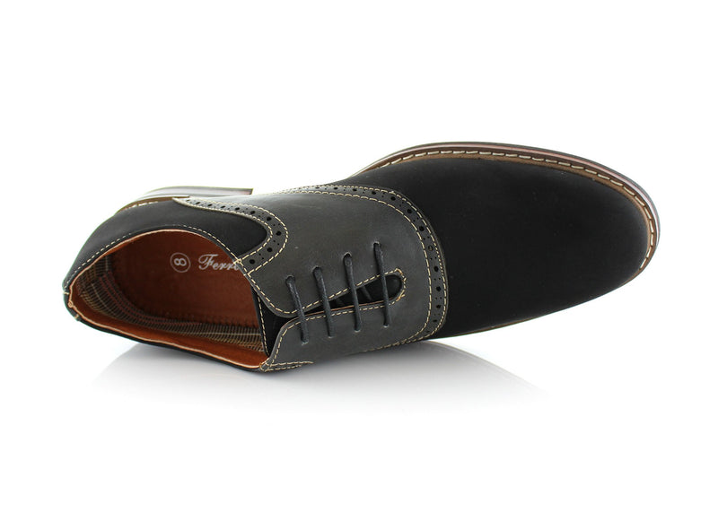 Color Bump Dress Shoes For Men Jordan Black Top