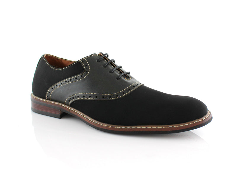 Color Bump Dress Shoes For Men Jordan Black Side
