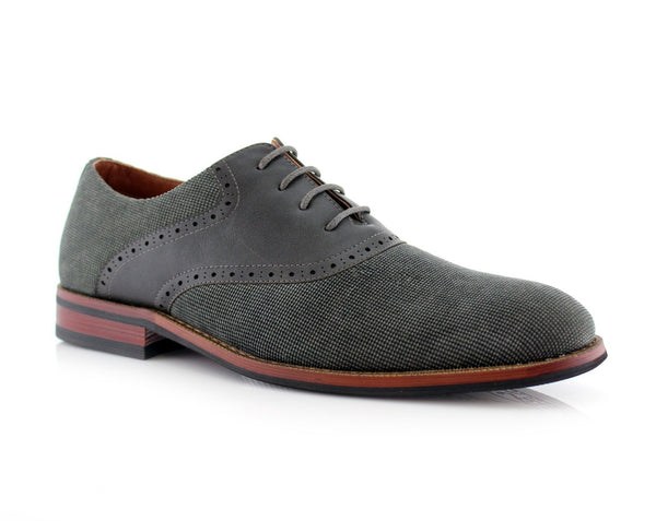 Velvet Men's Oxford Formal Dress Shoes | Baxter | Ferro Aldo Casual Shoes | CONAL FOOTWEAR