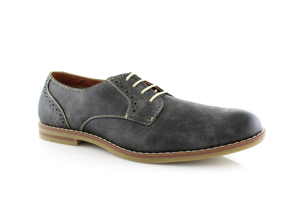 Burnished Gray Summer Casual Shoes by Ferro Aldo Side View