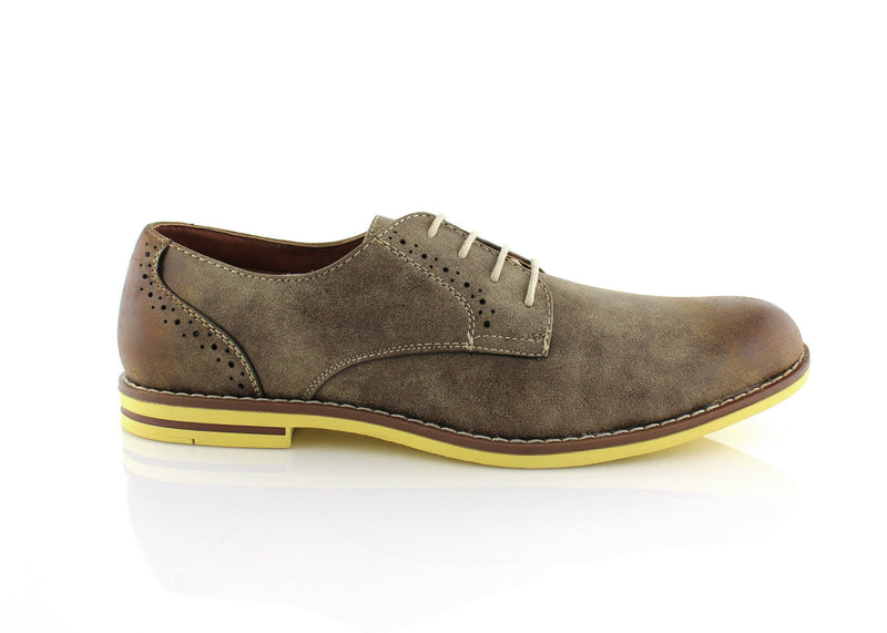 Burnished Brwon Summer Casual Shoes by Ferro Aldo Side View