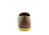 Burnished Brwon Summer Casual Shoes by Ferro Aldo Back View