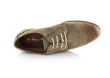 Burnished Brwon Summer Casual Shoes by Ferro Aldo Top View