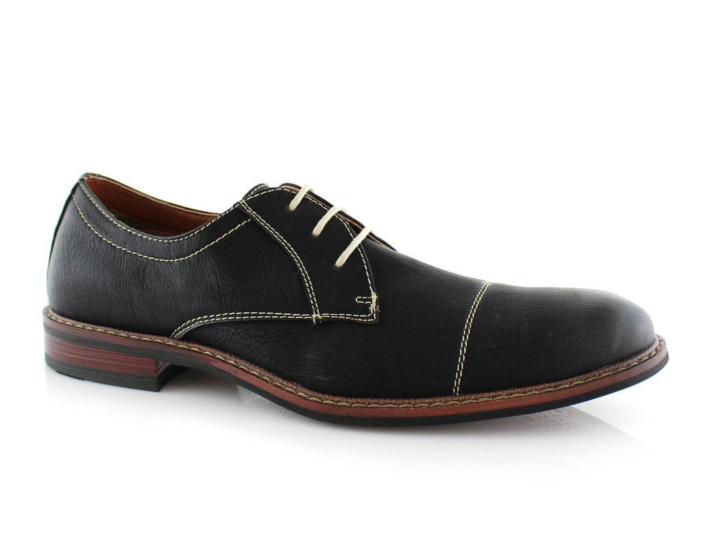 Men's Lace-up Oxford | Jason | Formal Leather Dress Shoes | CONAL FOOTWEAR