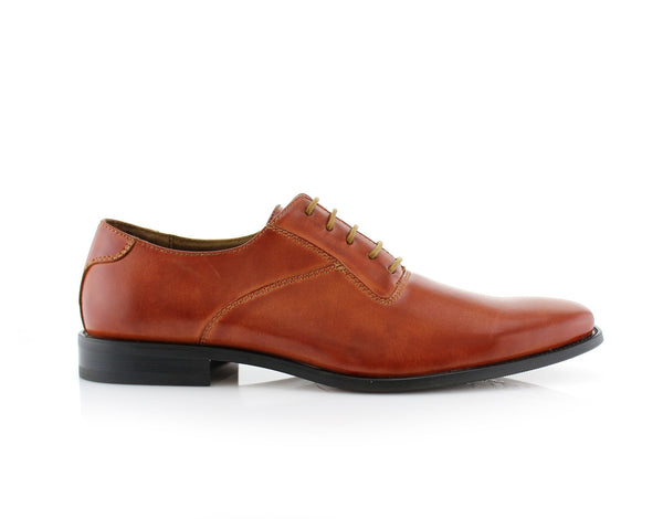 Men's Brown Wedding Shoes Oxford Dance Shoes Jeremiah Side View