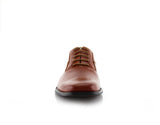 Men's Brown Wedding Shoes Oxford Dance Shoes Jeremiah Front View