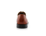 Men's Brown Wedding Shoes Oxford Dance Shoes Jeremiah Back View