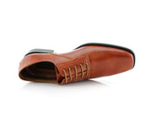 Men's Brown Wedding Shoes Oxford Dance Shoes Jeremiah Overlook