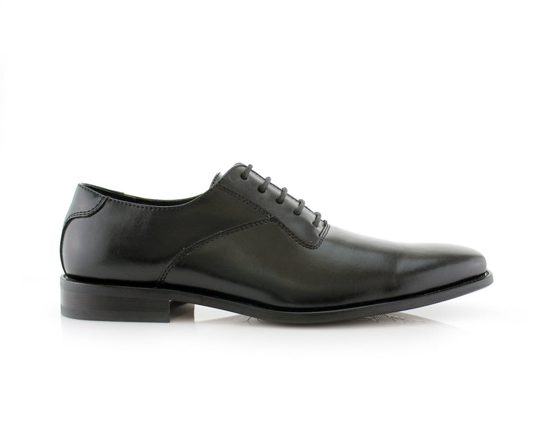 Men's Black Wedding Shoes Oxford Dance Shoes Jeremiah Side View
