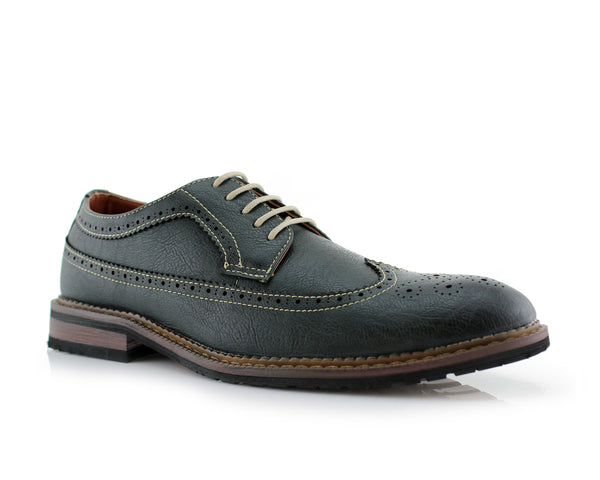 Longwing Brogue Dress Shoes | Phillip | Ferro Aldo Gifts For Man | CONAL FOOTWEAR