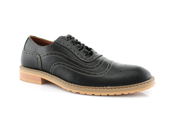 Wingtip Brogue Design Men's Shoes Timothy by Conal Footwear