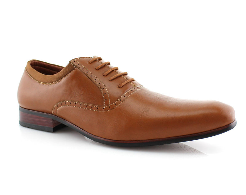 Men's Dress Shoes Oxford Formal Lace Up Classic Shoes