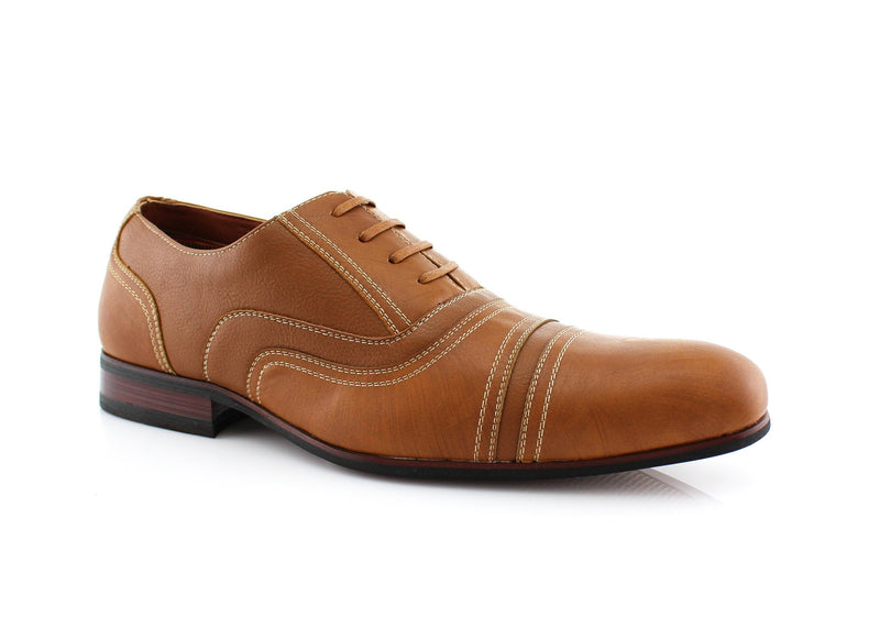 Brown Men's Brogue Casual Shoes  Daily Wear Side View