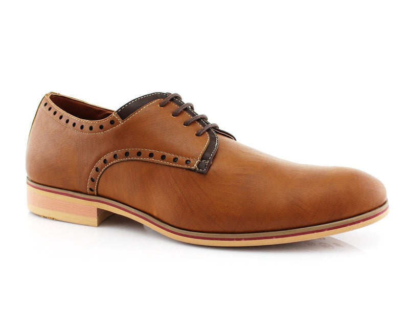 Men's Duty Shoes For Sale | MANUEL | Neon Plain Derby Men's Casual Shoes | CONAL FOOTWEAR