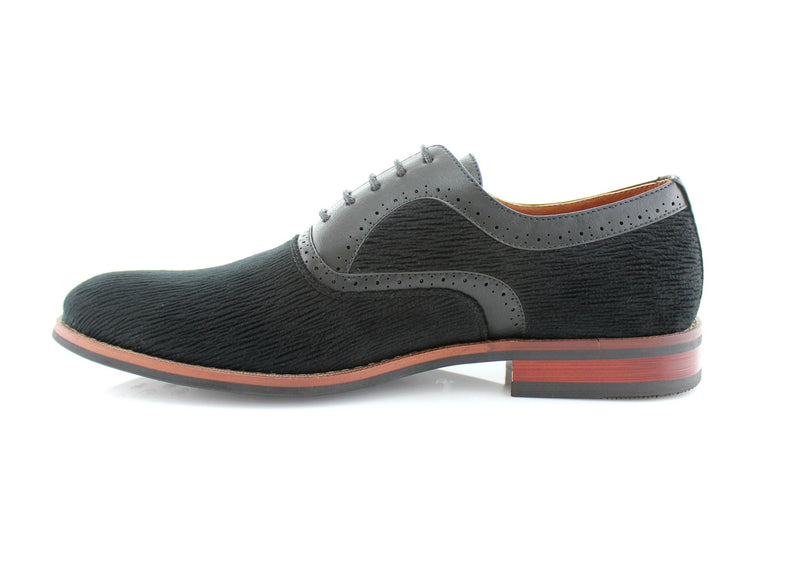 Black Men's Casual Shoes Robert Ferro Aldo Side View
