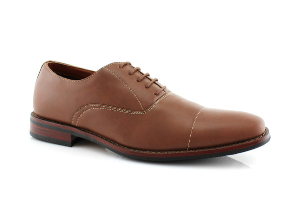 Best Brown Dress Shoes For bunions And Flat Feet Kevin Side View