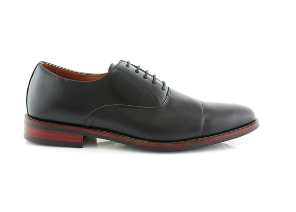 Best Black Dress Shoes For bunions And Flat Feet Kevin Side View
