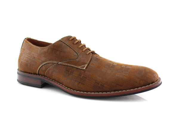 Brown Ballroom Dance Dress Shoes For Men Ashton Side View