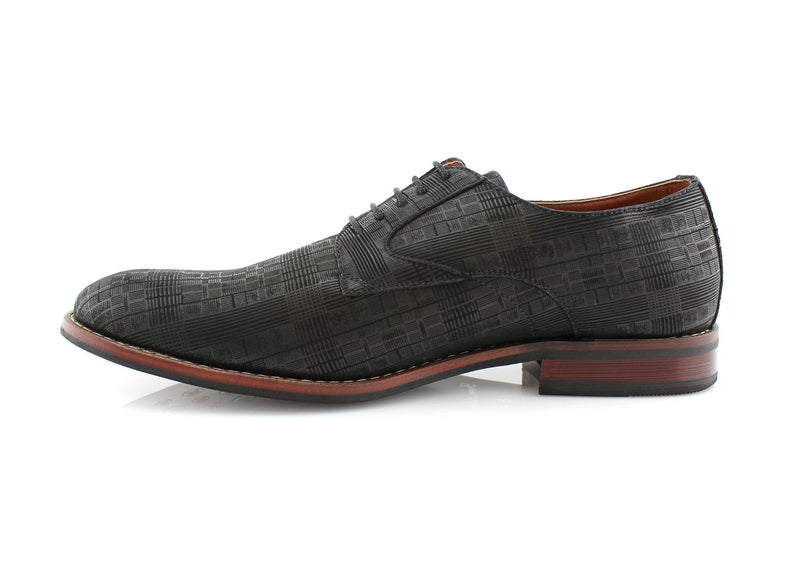 Black Ballroom Dance Dress Shoes For Men Ashton Side View