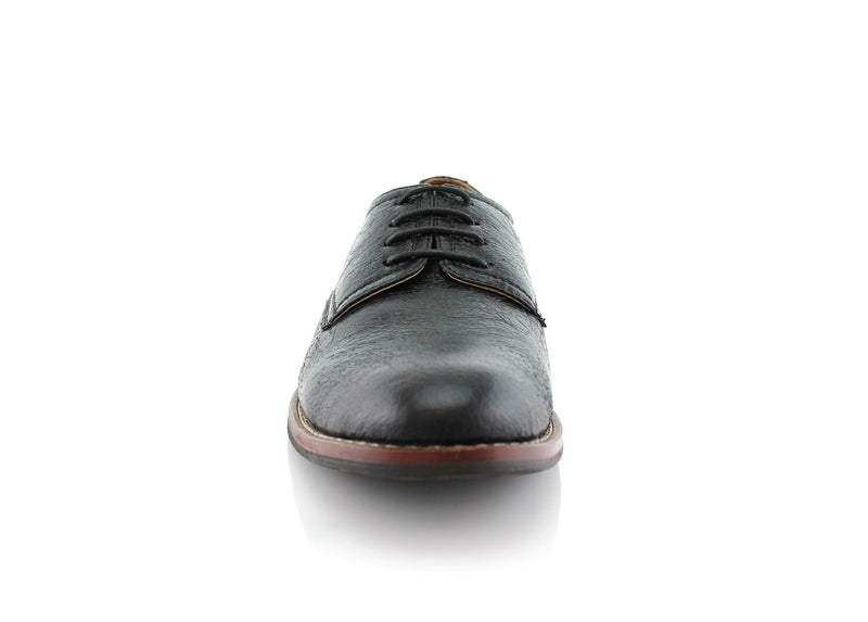 Spring Season Oxfords Dress Shoes Black Front