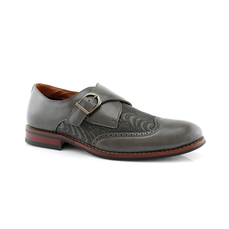 Single Monk Strap Shoes | Alfred | Ferro Aldo Business Men Shoes | CONAL FOOTWEAR